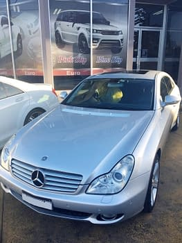 Mercedes CLS500 in for routine service1.JPG
