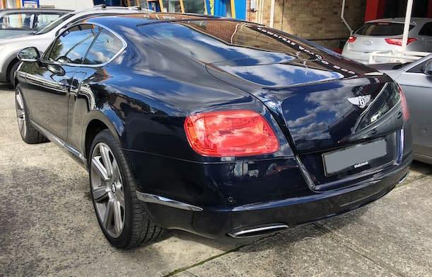 Bentley Continental GT1 – Bentley Smash Repairs