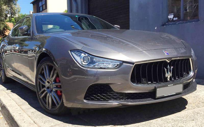 Maserati GHIBLI5 – Maserati Smash Repairs