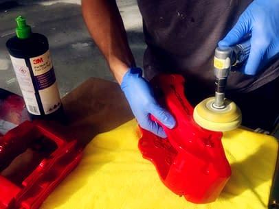 7.1 – Caliper Paint Work Process
