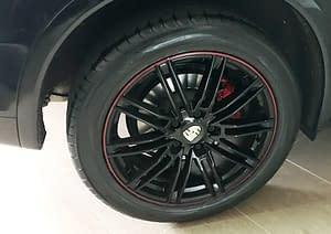 Porsche Cayenne11 – Alloy Wheel Repair